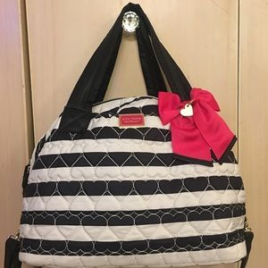 Betsey Johnson traveling bag